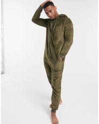 ASOS Fleece Onesie - Green
