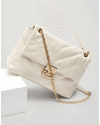 Miss Selfridge Bag With Chain Detail - White
