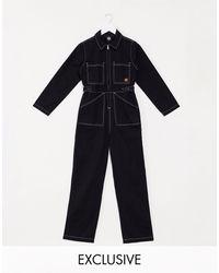 Santa Cruz Trip Boilersuit - Black