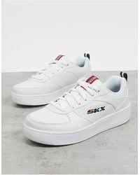 Skechers Sport Court - Baskets - Blanc