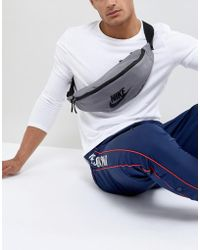 Nike Heritage Bumbag In Grey Ba5750-036