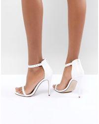 New Look - Stud Minimal High Sandal - Lyst