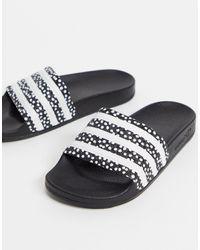 adidas Originals Adilette Slides - Black