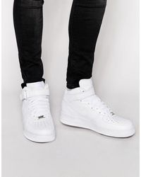 Nike Air Force 1 Mid '07 Trainers In White 315123-111