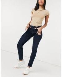 AG Jeans - AG Jeans - Jeans skinny alla caviglia blu classico - Lyst