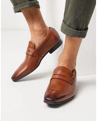 Ted Baker Светло-коричневые Кожаные Лоферы -светло-коричневый