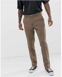 Heart & Dagger Pantaloni da abito slim grigio antracite