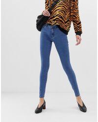 Vero Moda Skinny Jean In Blue