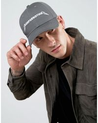 Good For Nothing - Baseball Cap In Grey With Logo - Lyst