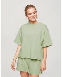 Miss Selfridge Pijama corto color menta - Verde