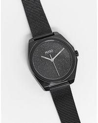 BOSS by Hugo Boss Hugo Boss – Imagine – Uhr mit Mesh-Armband - Schwarz