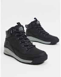 The North Face Черные Ботинки Back-to-berkeley Mid Wp-черный