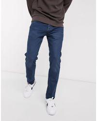 Levi's 501 - Smaltoelopende Jeans Met Dark Wash - Blauw