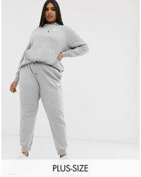 Nike Sportswear Essential Fleece-Hoodie mit durchgehendem Reißverschluss für - Grau