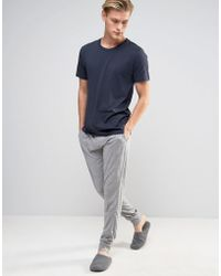 Esprit Sweatpants With Cuffed Ankle In Regular Fit - Gray
