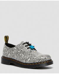Dr. Martens X Keith Haring 1461 - Schoenen Met 3 Oogjes - Wit