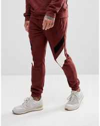 Religion - Pantalon de jogging fusel en sudine empicements contrastants - Lyst