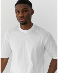 Only & Sons Oversized T-shirt In White