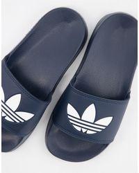 adidas Originals Adilette Lite - Sliders blu navy