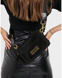 Versace Jeans Couture – Mittelgroße Umhängetasche - Schwarz