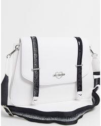 Love Moschino Satchel Bag - White
