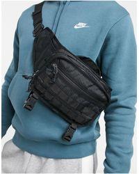 Nike Черная Сумка-кошелек На Пояс Rpm-черный Цвет