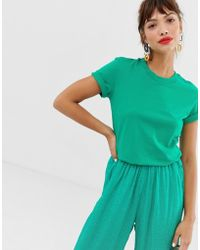 & Other Stories Cotton T-shirt In Bright Green