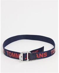 Tommy Hilfiger Темно-синий Ремень С Логотипом