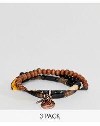 Classics 77 - Beaded Bracelets In 3 Pack - Lyst