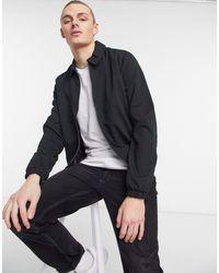 Brave Soul Черная Куртка Харрингтон -черный Цвет