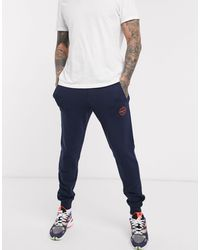Jack & Jones Originals - Jogger avec logo écusson - Bleu marine