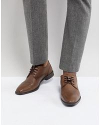 Ben Sherman - Smart Derby In Brown Leather - Lyst
