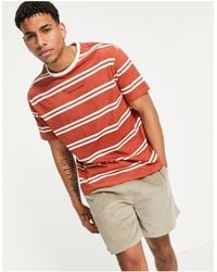 Another Influence - Striped Logo T-shirt - Lyst