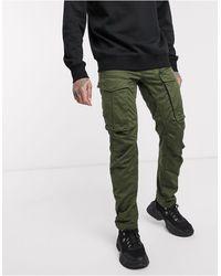 G-Star RAW Rovic - Pantaloni dritti affusolati - Verde