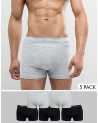 French Connection - 5 Pack Boxers - Lyst