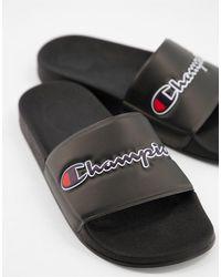 Champion M-evo Script Slide - Black