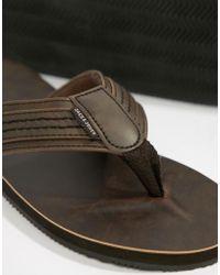 Jack & Jones - Leather Sandal - Lyst