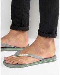 Havaianas - Brasil Flip-flops - Lyst