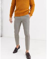 Burton Slim Fit Trousers - Grey