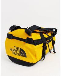 The North Face Желтая Спортивная Сумка Base Camp-черный