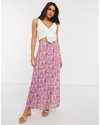 Y.A.S Chiffon Maxi Skirt - Multicolor