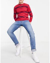 Lee Jeans Luke Slim Tapered Jeans - Blue