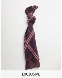 Collusion Unisex Scarf - Purple