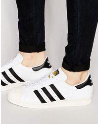 adidas Originals Superstar 80's G61070 - Baskets - Blanc
