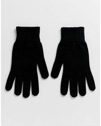 ASOS Schwarze Handschuhe