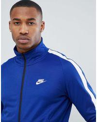Nike - N98 Track Jacket In Blue 861648-455 - Lyst