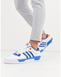 adidas Originals Rivalry - Lage Sneakers - Blauw