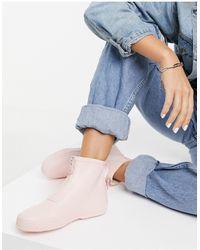 Vero Moda Short Rubber Wellies - Pink