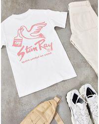 Stan Ray Camiseta con estampado - Blanco