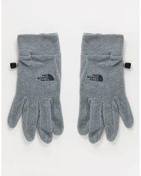 The North Face Tka 100 Glacier Glove - Gray